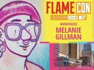 Melanie Gillman at Flame Con 2019