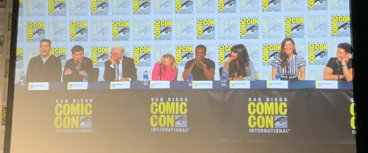 SDCC '19: Preparing for the end on the final, emotional THE GOOD PLACE Comic-Con panel