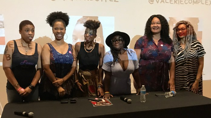 Journalism in Pop Culture panel at Women In Comics Con 2019
