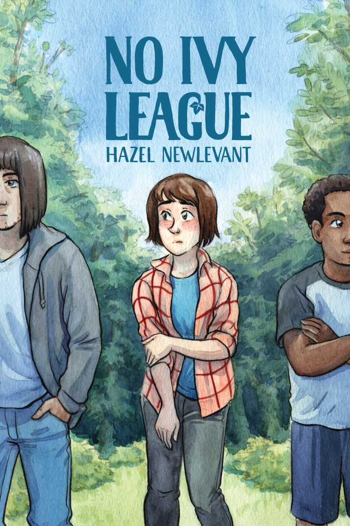 No Ivy League cover art by Hazel Newlevant