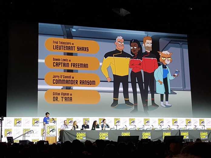SDCC '19: STAR TREK: LOWER DECKS announces full voice cast