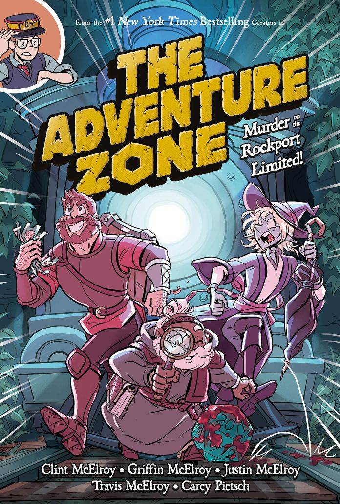 The Adventure Zone: Murder on the Rockport Limited cover art