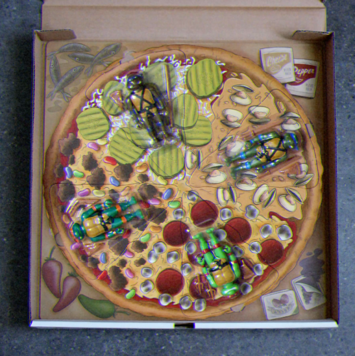 Super7 Teenage Mutant Ninja Turtle Pizza