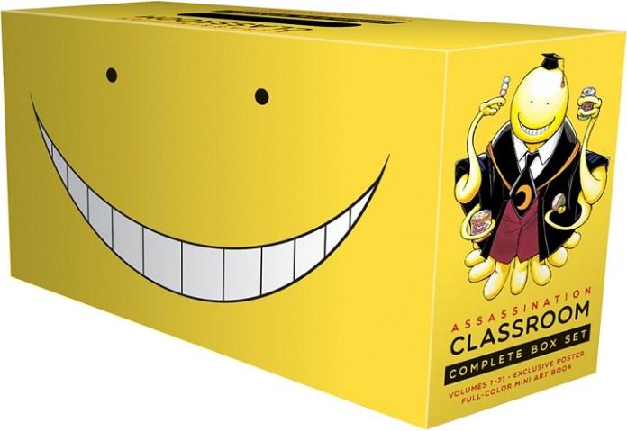ASSASINATION CLASSROOM box set and INFINITE-T FORCE top VIZ Media's September Releases