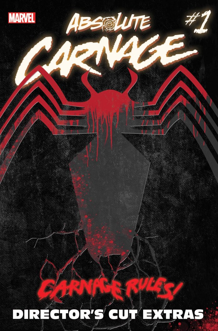 Absolute Carnage #1 Director's Cut cover