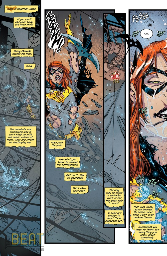 EXCLUSIVE PREVIEW: It's Barbara against Oracle in BATGIRL
