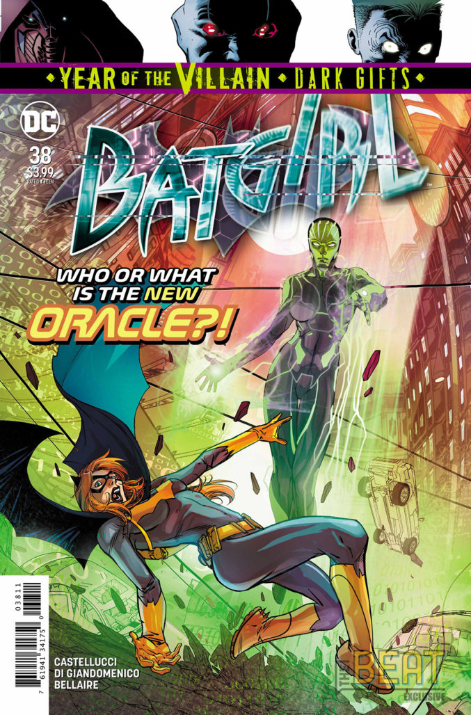 Batgirl #38 cover