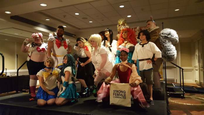 The winners and honorable mentions of the Flamecon 2019 Cosplay Contest.