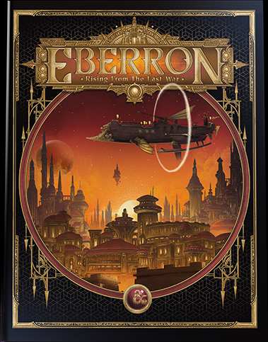 Eberron: Rising from the Last War alternate cover