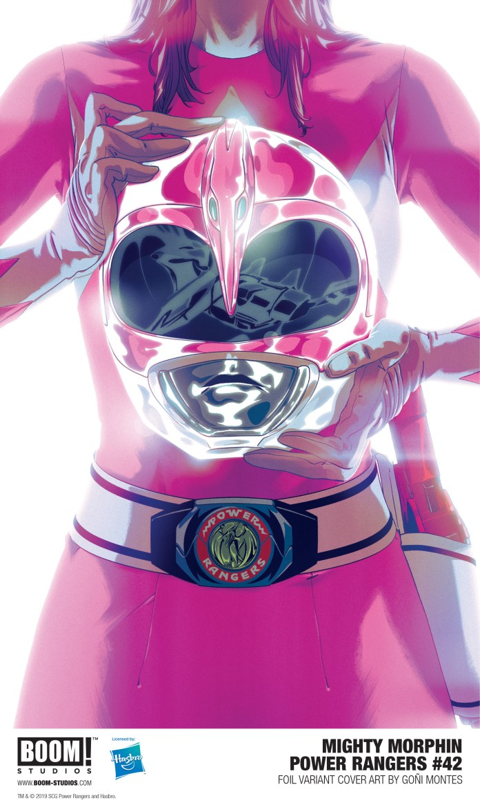 Mighty Morphin Power Rangers Foil Variant