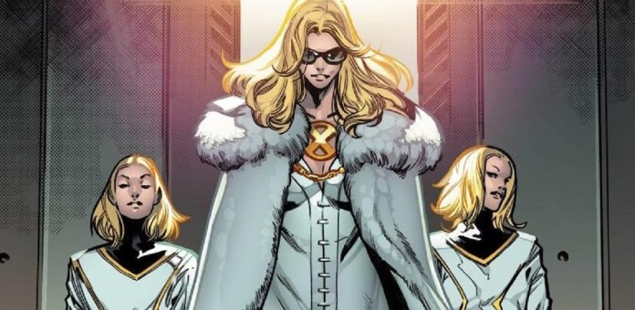 Emma Frost White Queen Entrance