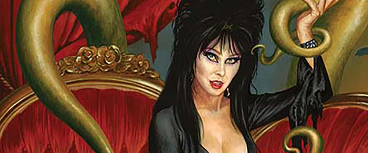 EXCLUSIVE PREVIEW: ELVIRA: MISTRESS OF THE DARK #8 brings Elvira face to face with Satan