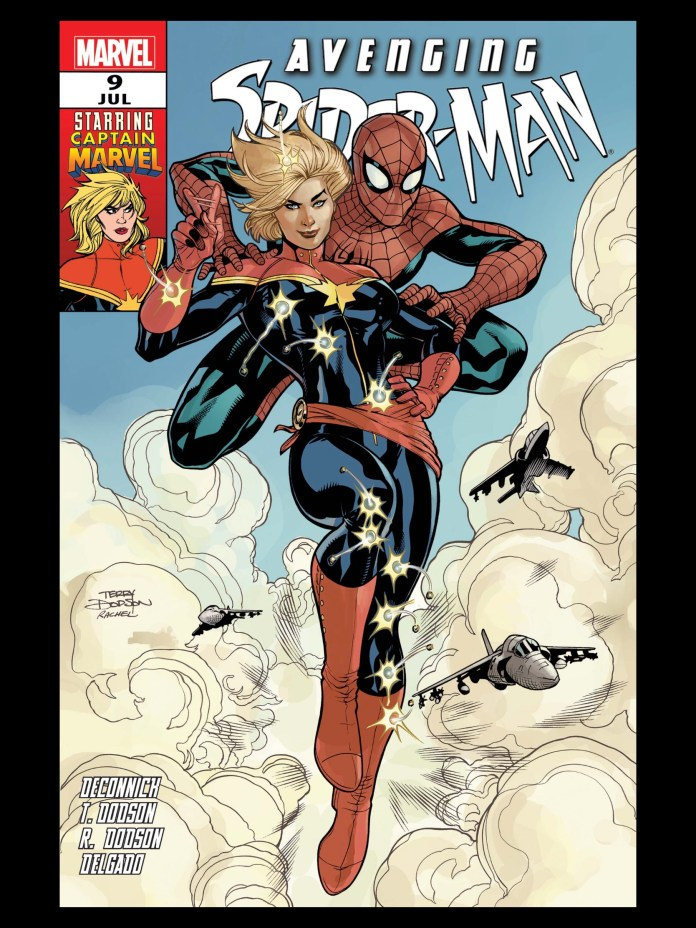 Carol Danvers as Captain Marvel missing from Marvel Comics #1000