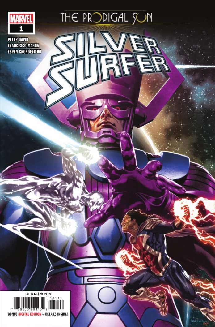 Silver Surfer: The Prodigal Sun #1 cover art