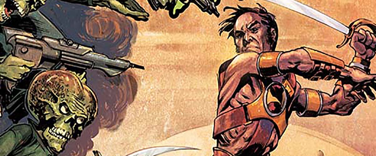 EXCLUSIVE PREVIEW: WARLORD OF MARS ATTACKS #3 makes John go deeper into his mind for help