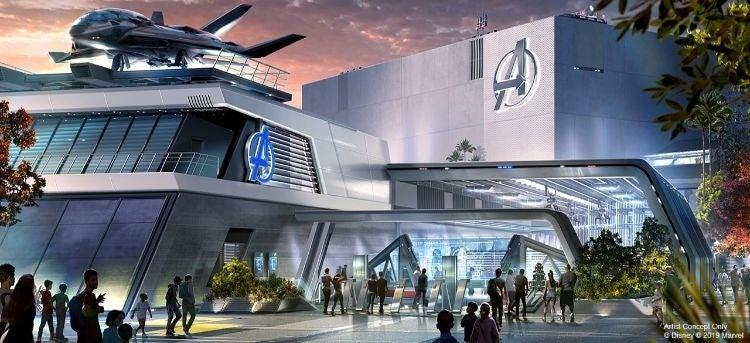 d23 news avengers headquarters