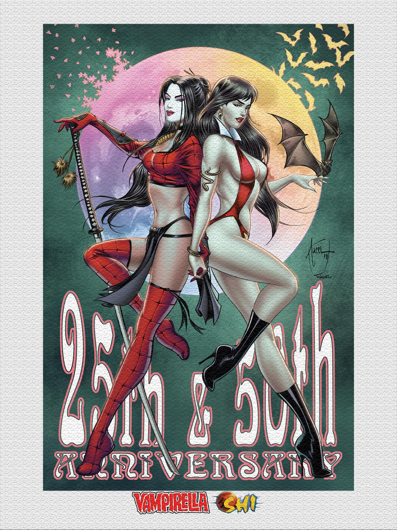 Vampirella and Shi