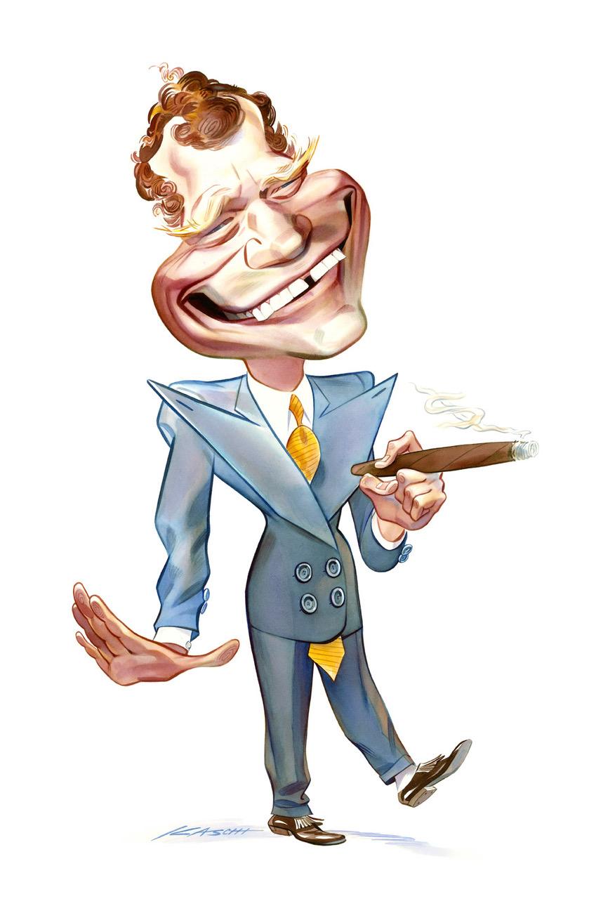 John Kascht Letterman portrait