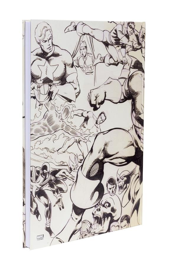 John Byrne's Marvel Classics Artifact Edition - back