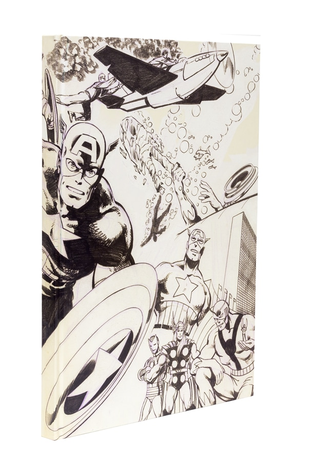 John Byrne's Marvel Classics Artifact Edition front