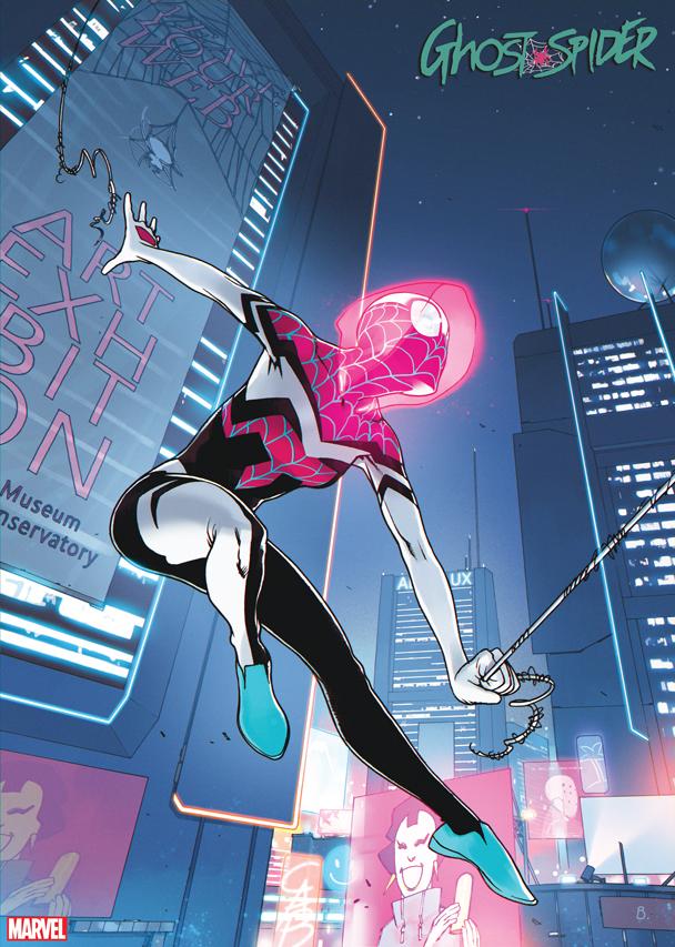 Ghost-Spider #4 2099 variant