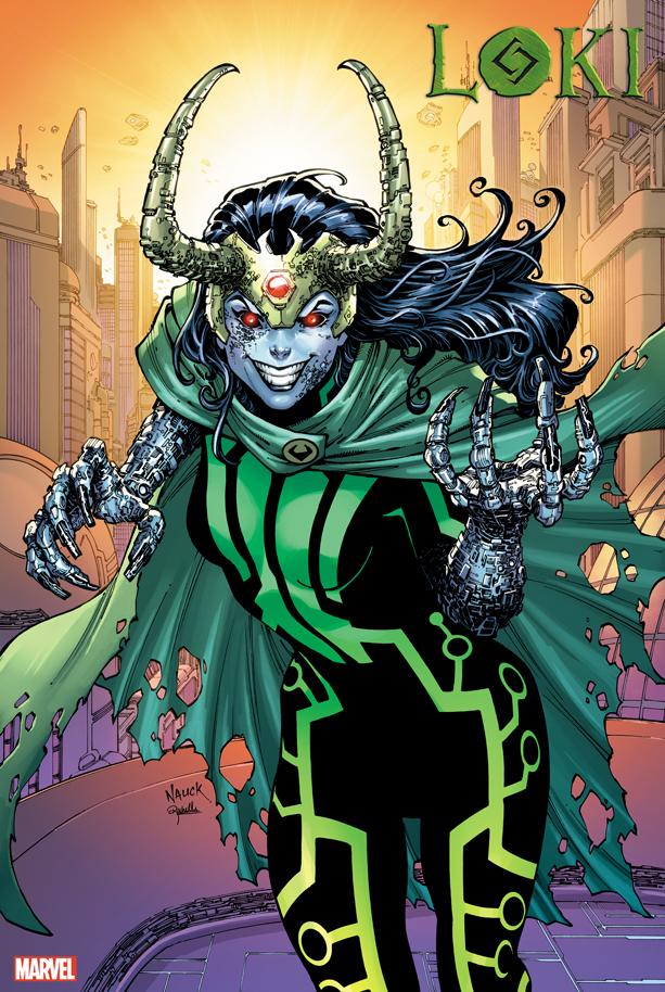 Loki #5 2099 variant