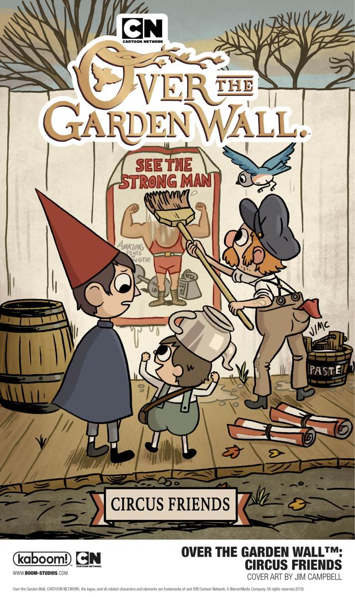 Over the Garden Wall: Circus Friends cover art