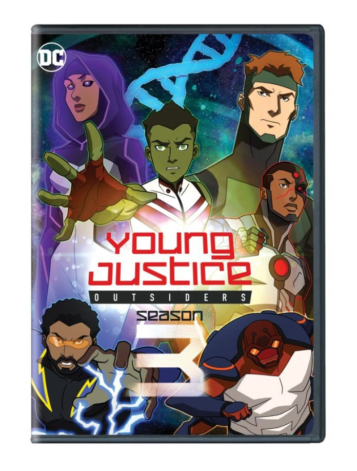 Young Justice Outsiders blu-ray