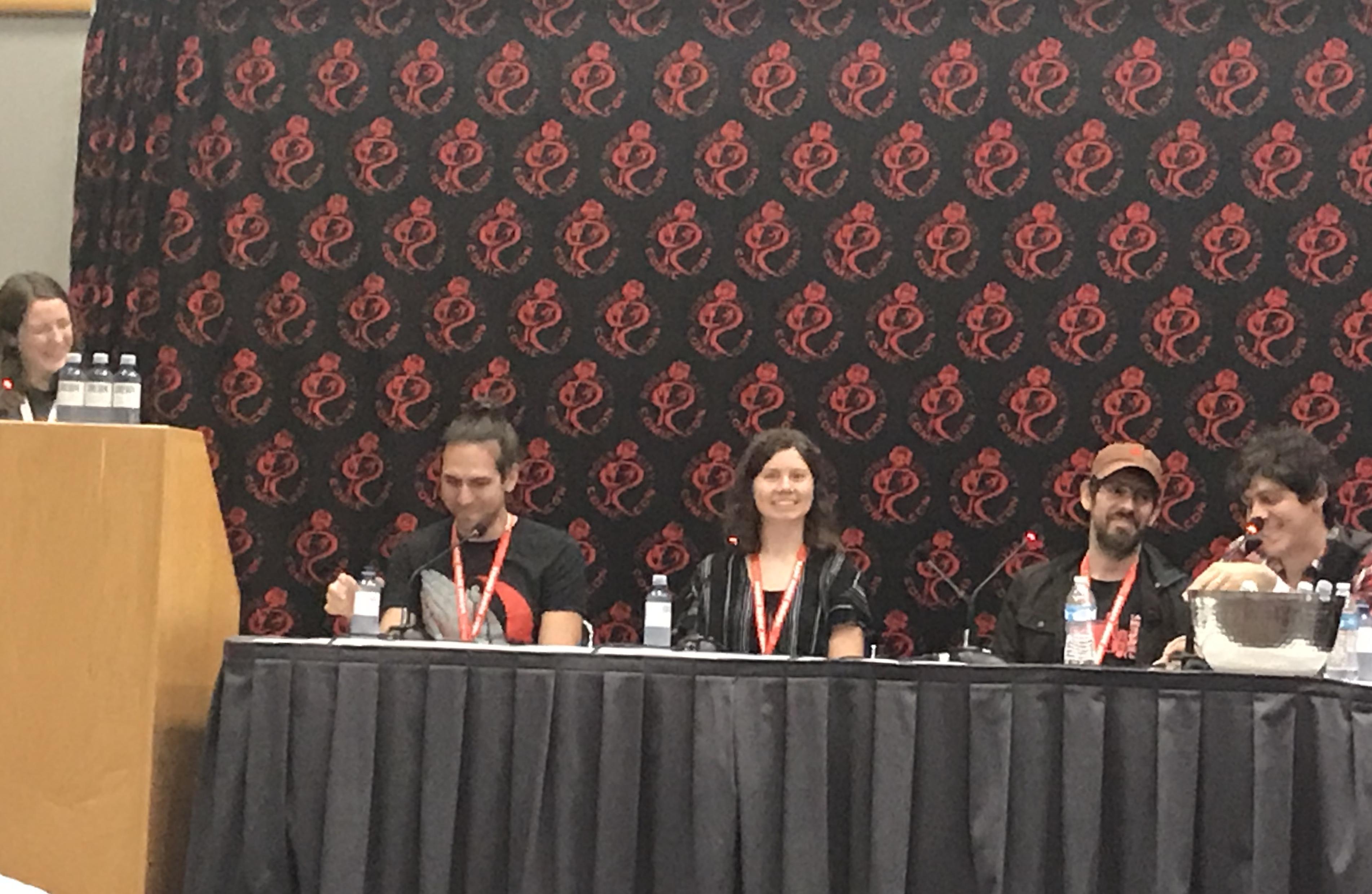 Artists Who Write panel