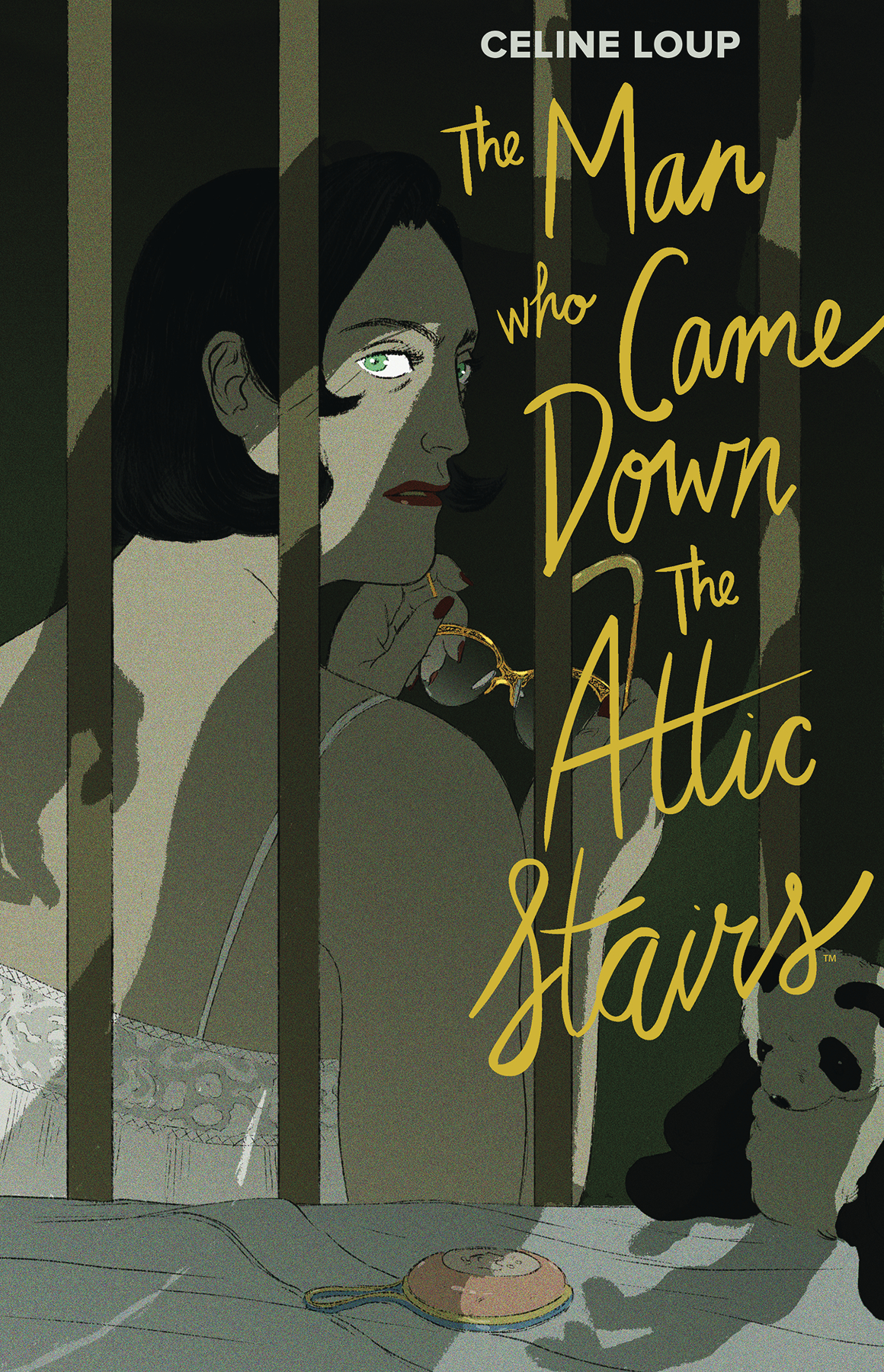 Graphic Novels for Fall 2019: The Man Who Came Down the Attic Stairs
