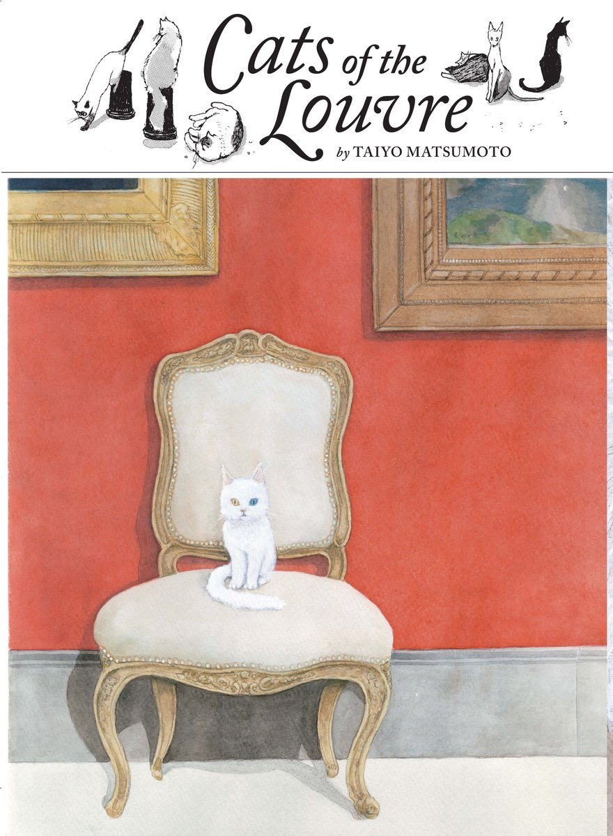 Graphic Novels for Fall 2019: Cats of the Louvre