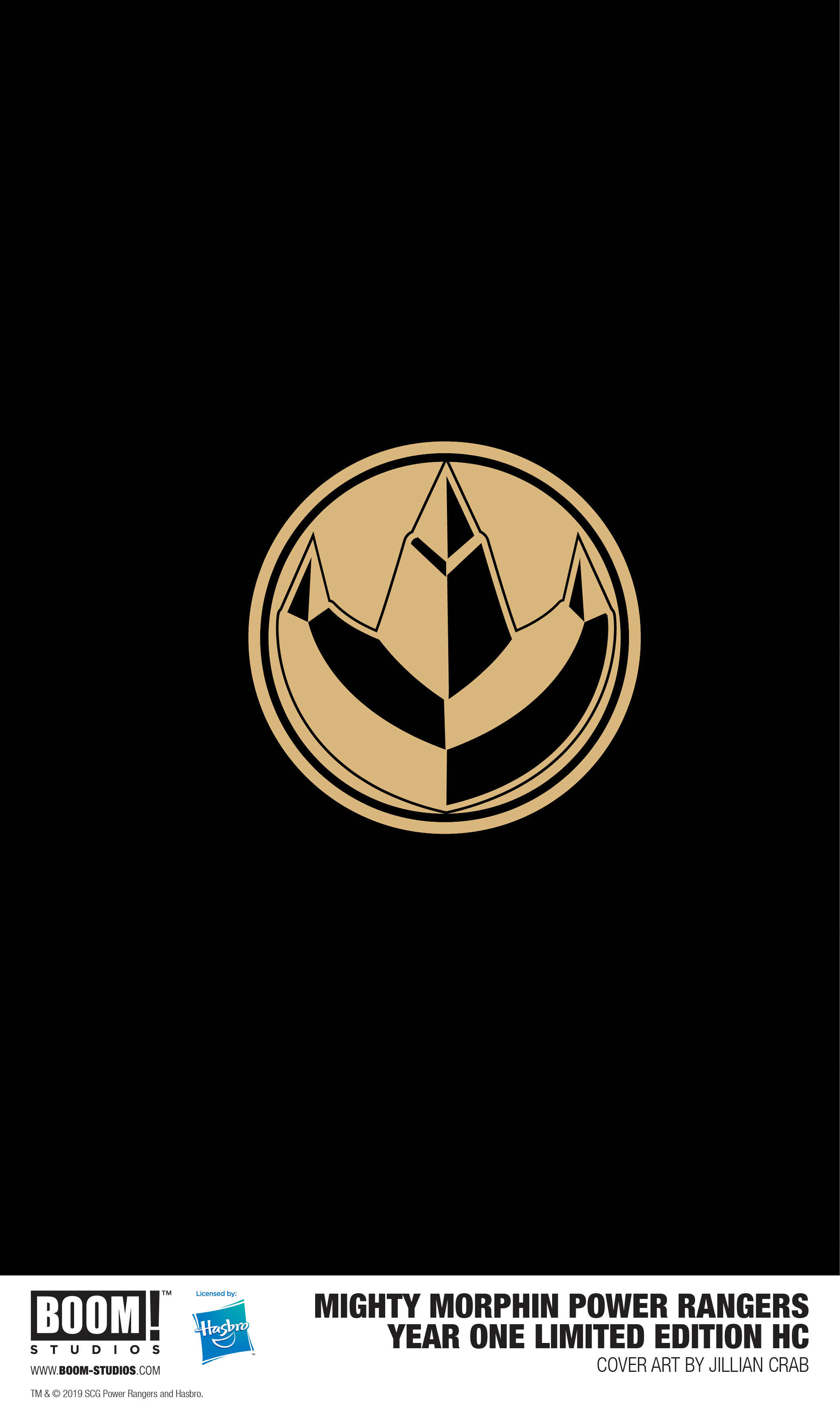 Mighty Morphin Power Rangers Year One Hardcover Limited Edition Variant