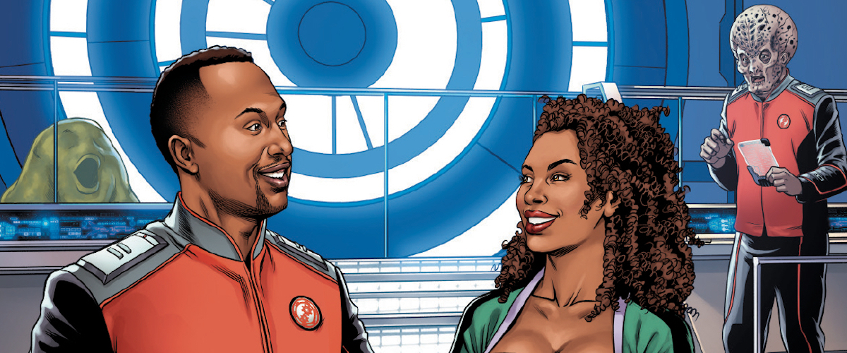EXCLUSIVE PREVIEW: THE ORVILLE #3: THE WORD OF AVIS heads into Krill space
