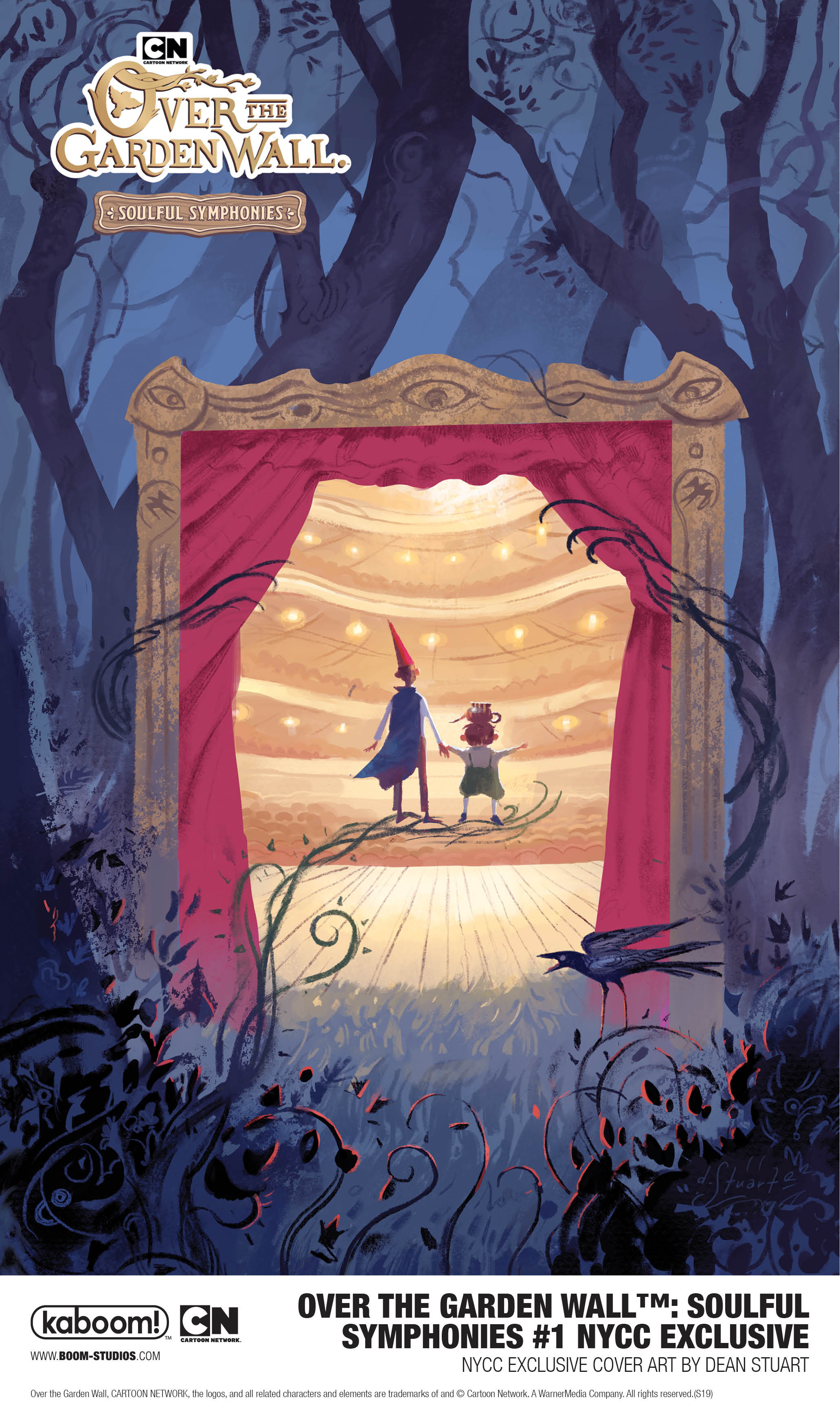 BOOM! Studios NYCC exclusives: Over the Garden Wall™: Soulful Symphonies #1 NYCC Exclusive Variant Cover