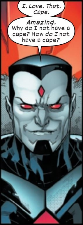 Mr. Sinister Loves Capes