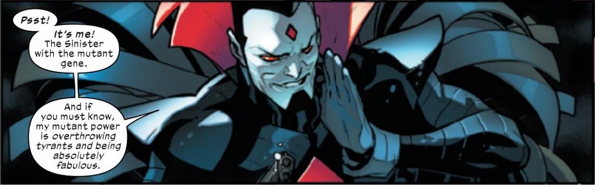Mr. Sinister Overthrow Tyrant