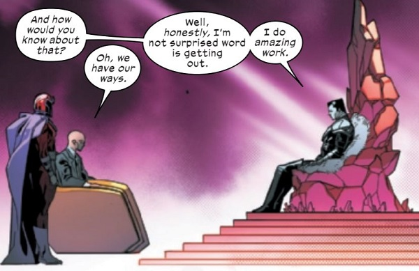 Xavier and Magneto make deal with Mr. Sinister