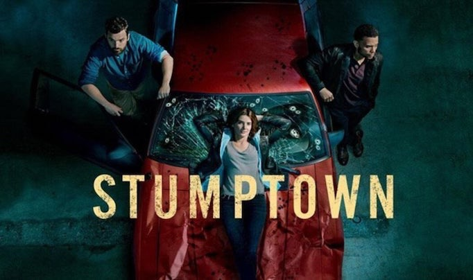 cobie smulders stumptown review poster