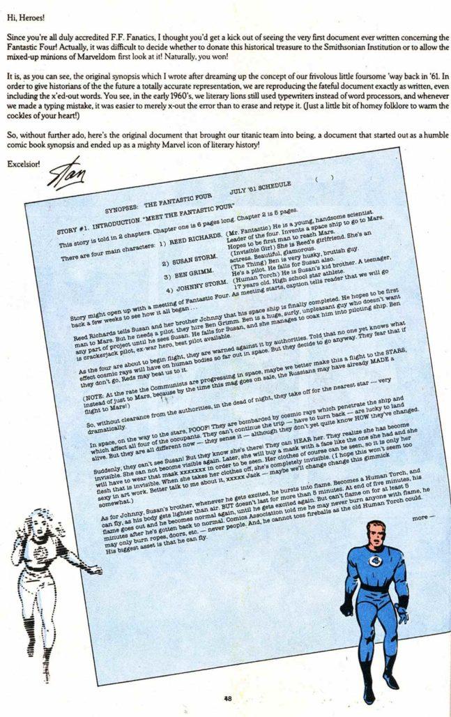 marvel style comics ff