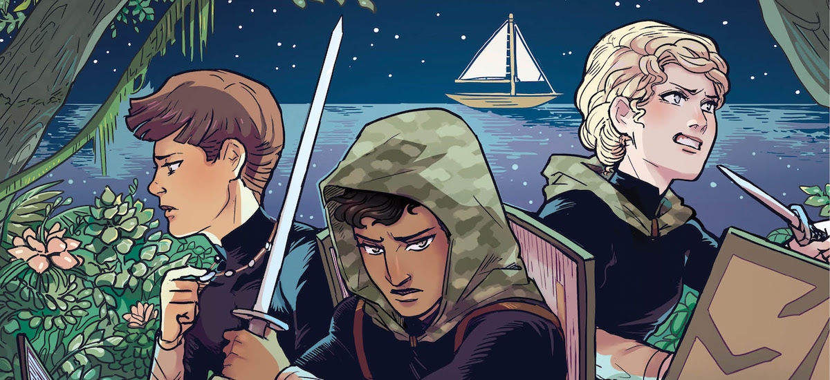 PREVIEW: Meet the Fivers in A THIEF AMONG THE TREES, the first AN EMBER IN THE ASHES prequel GN