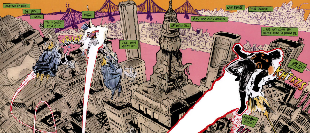 In Conversation With Michel Fiffe Part 1 Doomsday Clock Mike