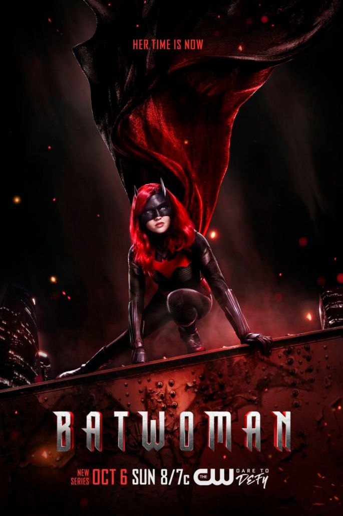 Batwoman Actress Rachel Skarsten stars in this new CW show, advertised here via key art poster