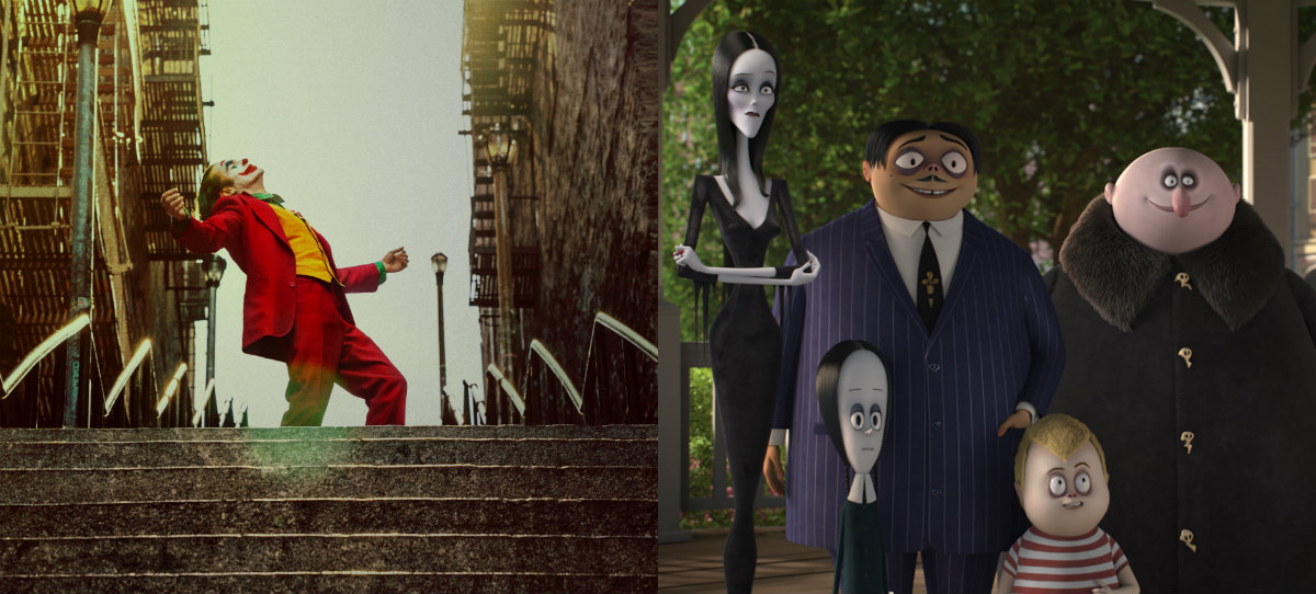 Box Office: JOKER repeats with $55 million, ADDAMS FAMILY bests Will Smith's GEMINI MAN