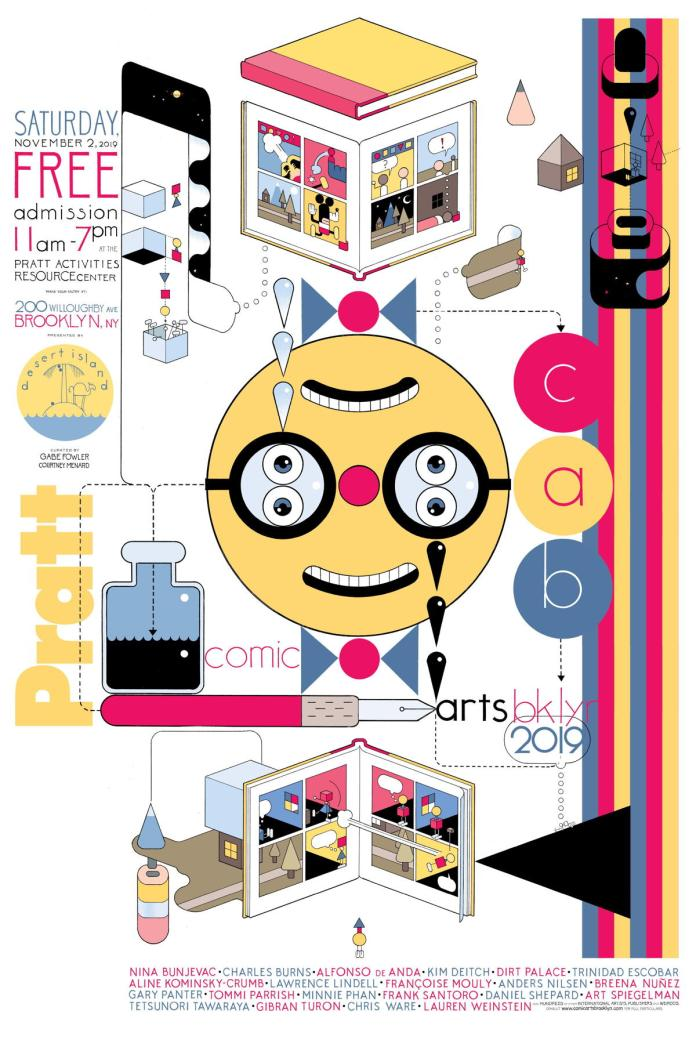 Comic Arts Brooklyn returns in November with Ware, Kominsky-Crumb and more