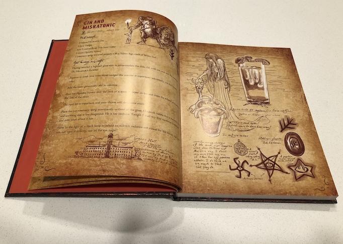 Lovecraft cookbook DPS