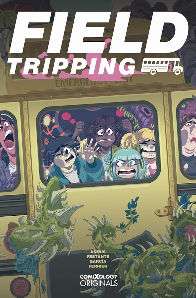 field tripping comic cover