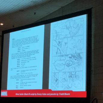 Making Comics the Marvel Way: Script