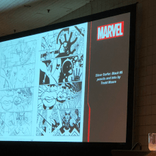Making Comics the Marvel Way: Inks