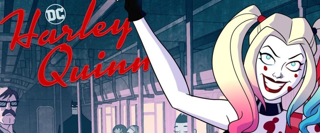 NYCC Harley Quinn cartoon