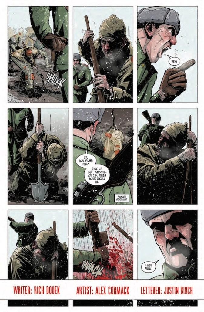 Alex Cormack comics Road of Bones